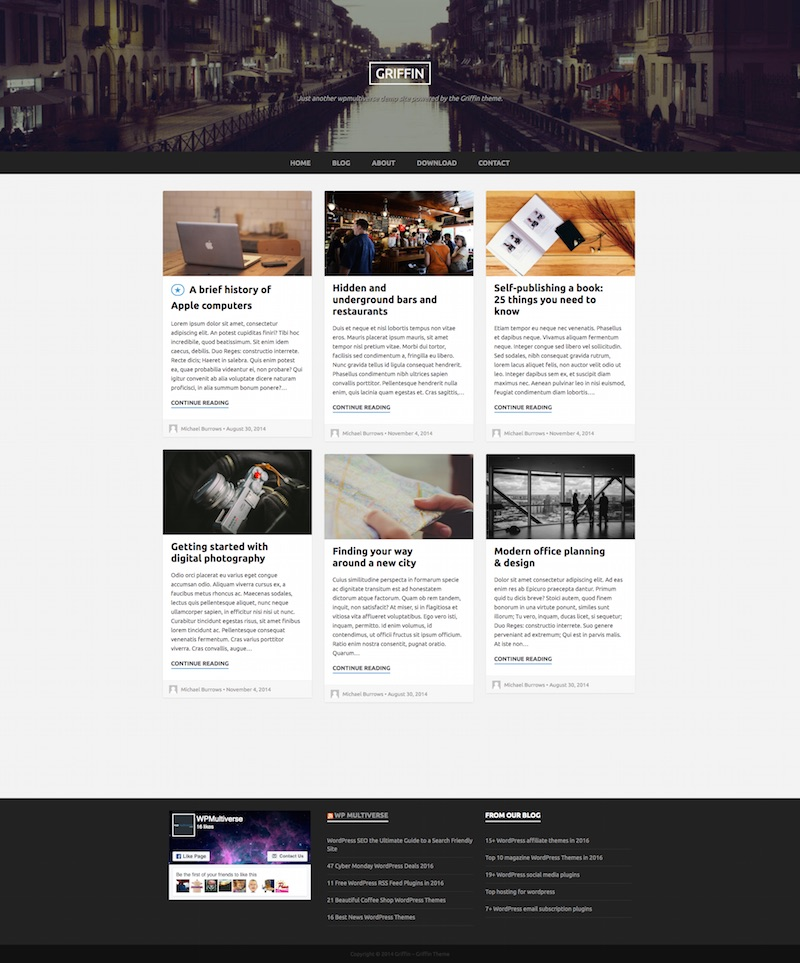 griffin-bootstrap-theme