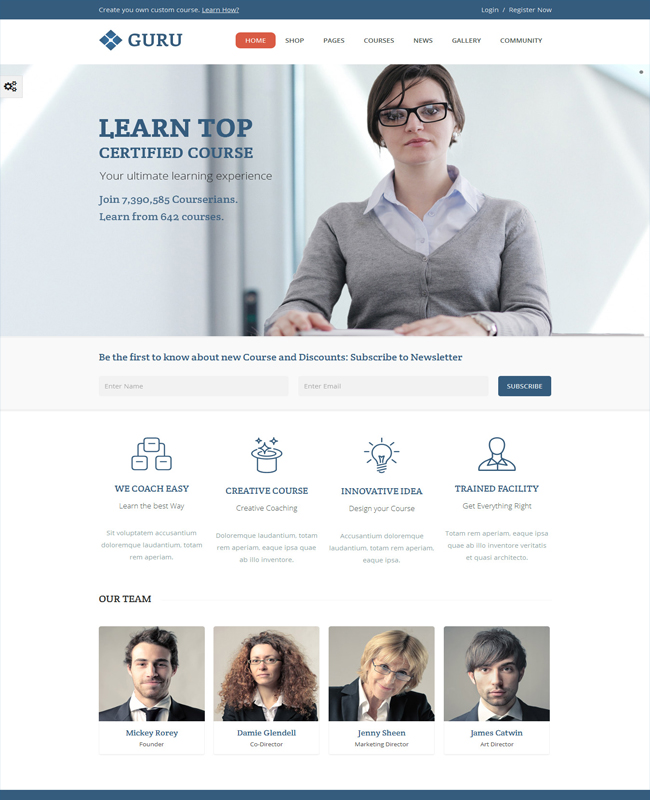 Guru-Learning-Institute-Management-WordPress-Theme