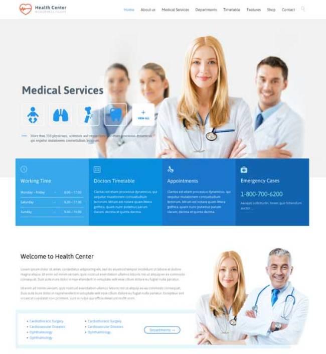 Health-Center-Responsive-Medical-Theme