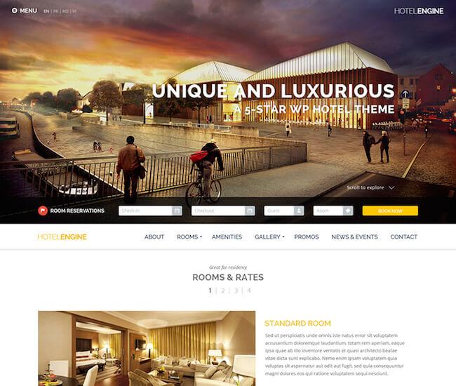 HotelEngine Classy Theme