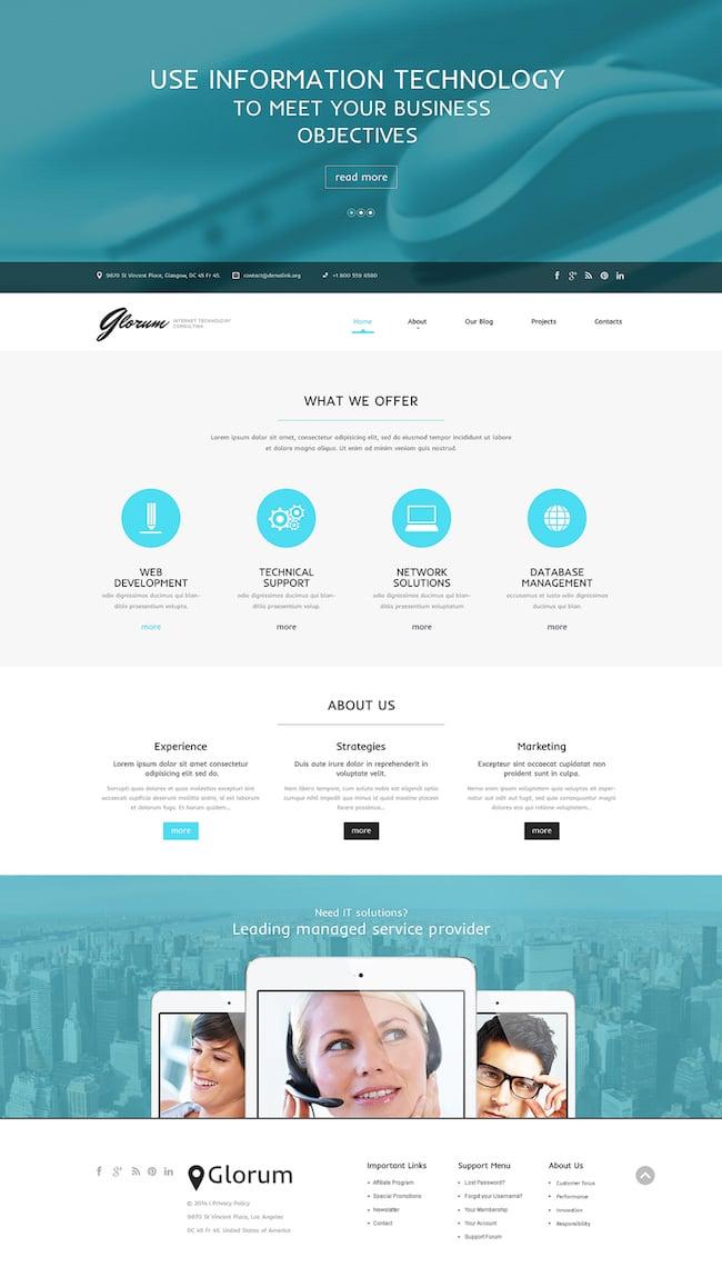IT Theme for WordPress
