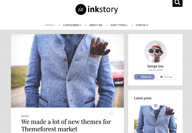 InkStory-Personal-News-Blog-WordPress-Theme