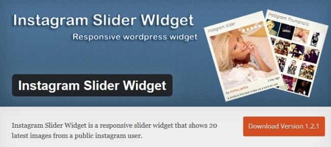 Instagram Slider Widget