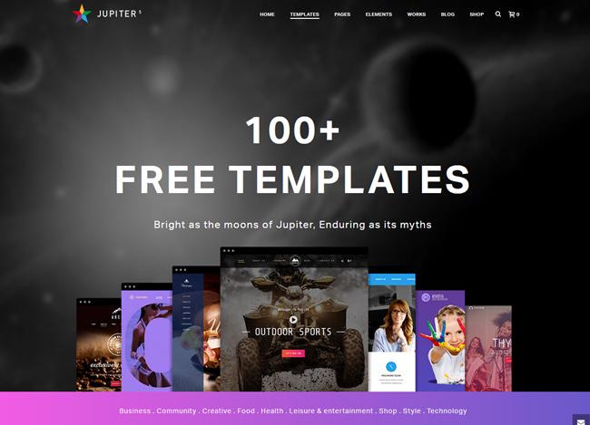 jupiter wordpress theme
