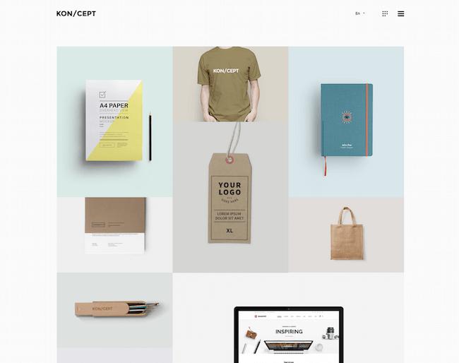 KON-CEPT Portfolio Creative Theme