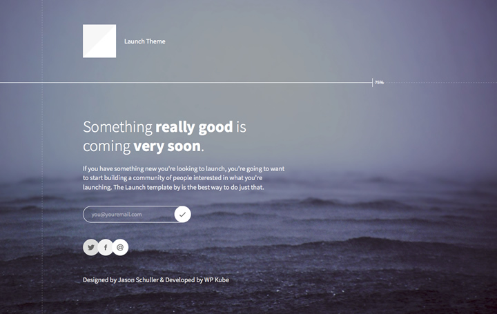 Launch-Free-WordPress-Theme