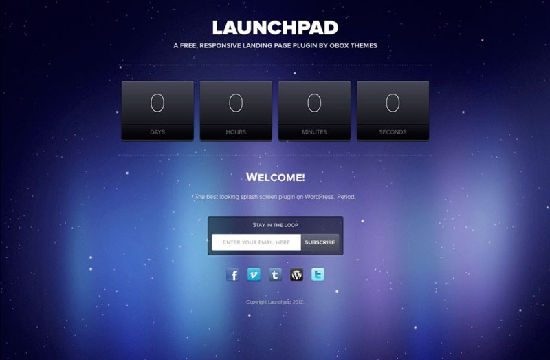 Launchpad-under-construction-plugin
