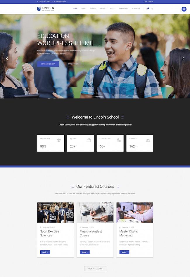 Lincoln WordPress Theme