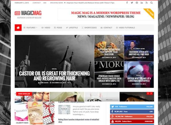 Magic-Responsive-News-Magazine-Blogging-Review-WordPress-Theme