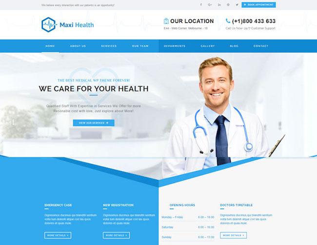 Maxi-Health-Modern-Responsive-Medical-Theme-for-WordPress