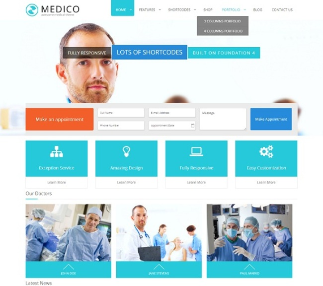 Medico-The-Ultimate-Medical-Theme