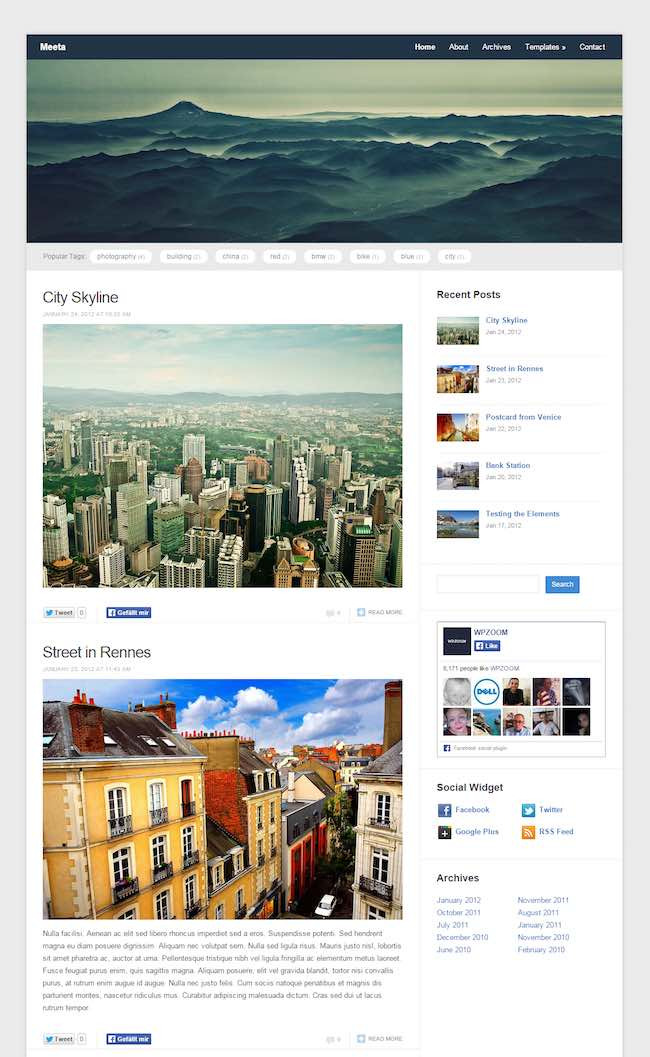 Meeta-WordPress-Theme