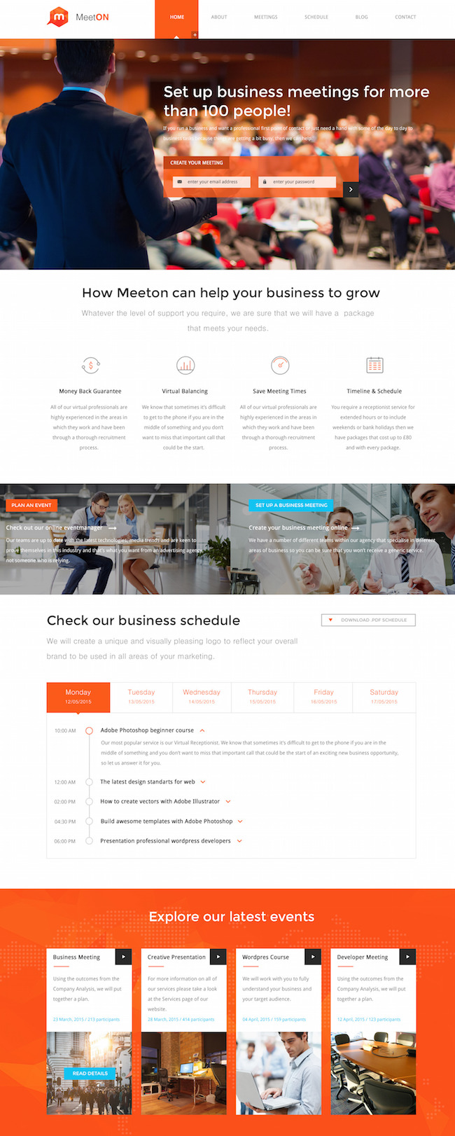 Meeton WordPress Theme