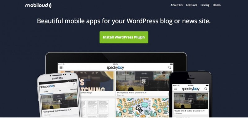 Mobiloud WordPress App