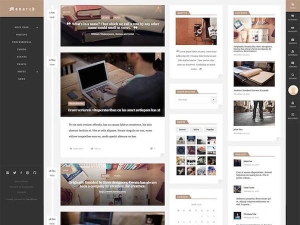 Monarch-WordPress-Community-Theme