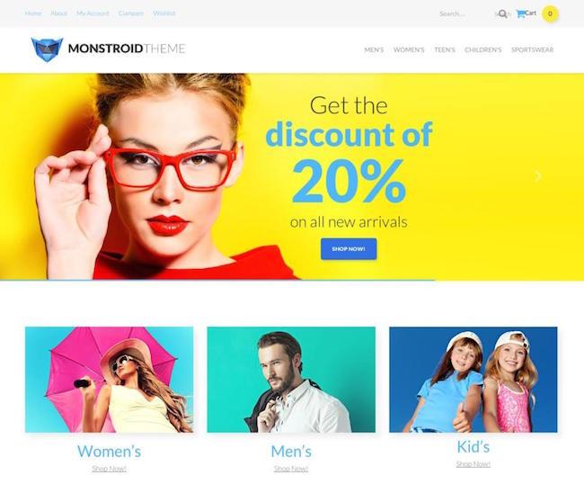 Monstroid-WooCommerce
