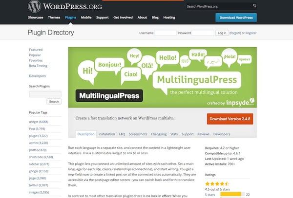 multilingualpress plugin