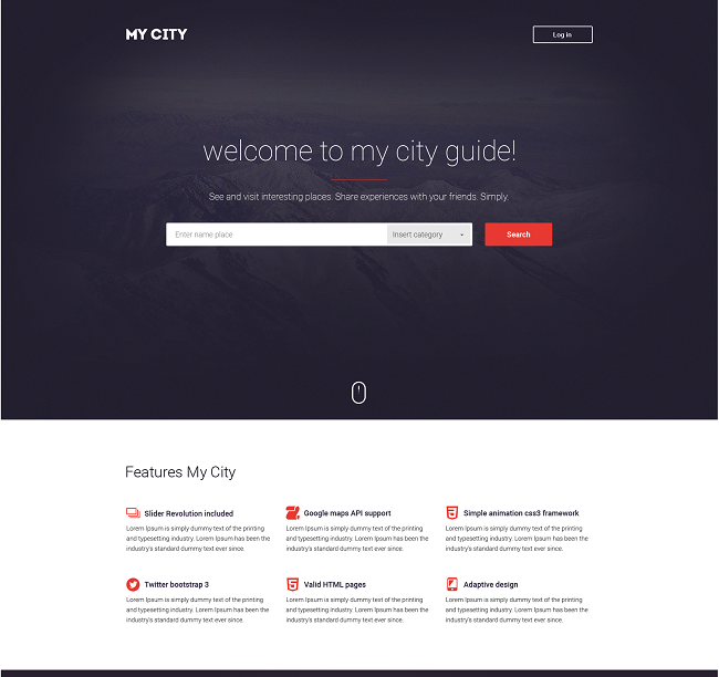 Government Agency WP Theme,