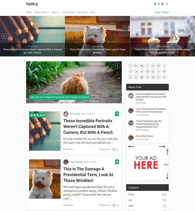 myblog-professional-blog-wordpress-theme