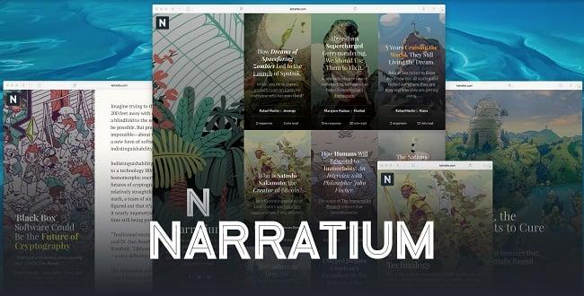 Narratium, Gutenberg Wp theme