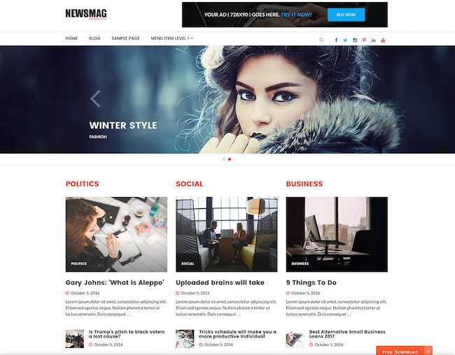 newsmag-lite-wordpress-theme