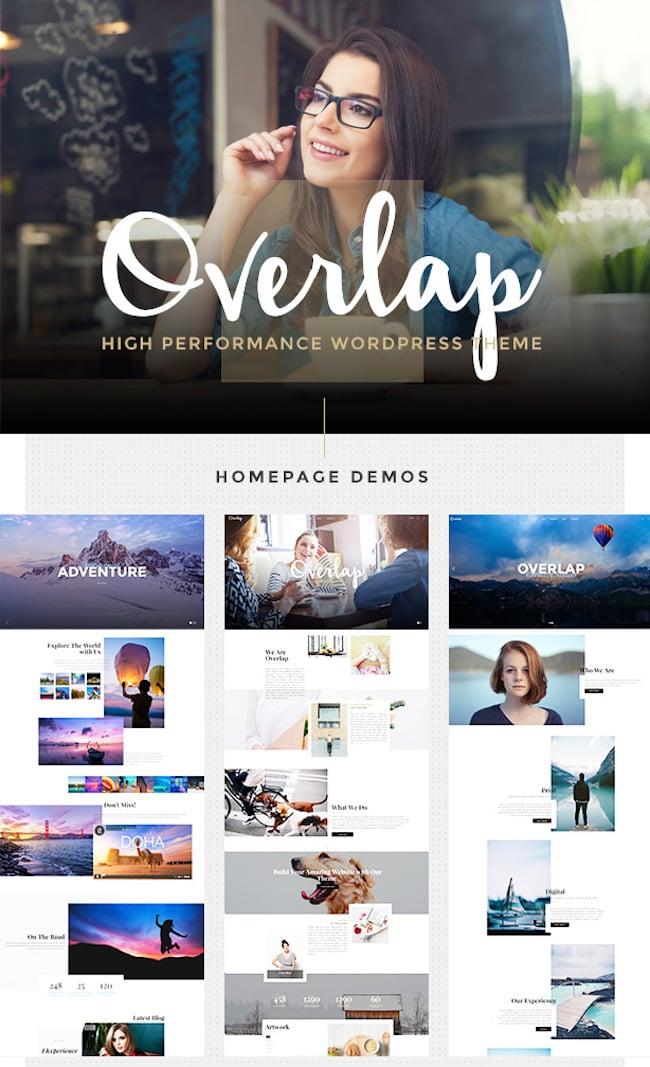 Overlap WordPress Theme