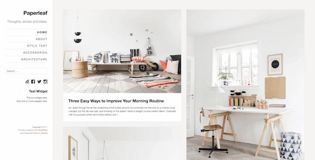 Paperleaf WordPress Theme