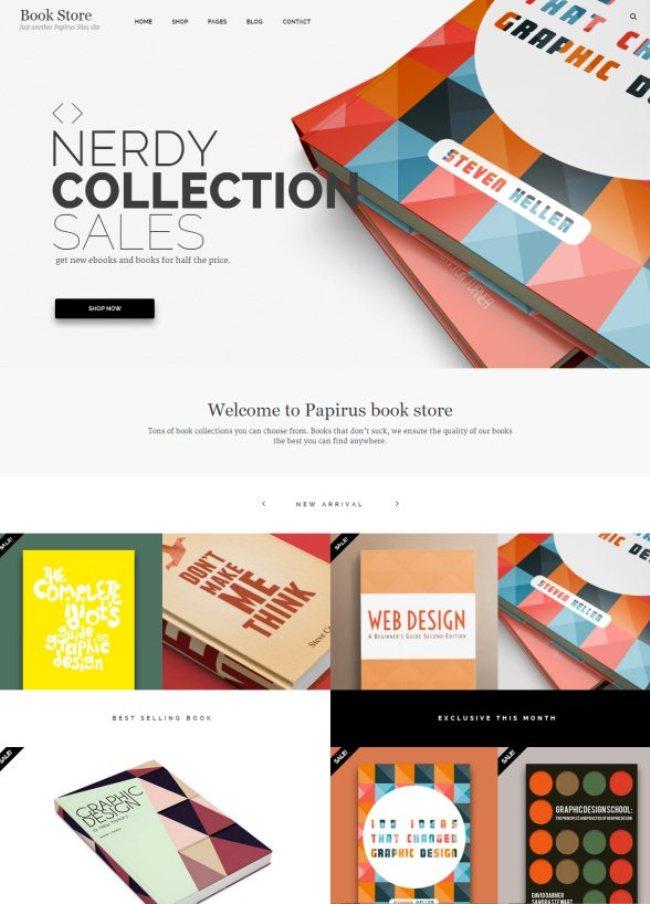 Papirus Ultimate WordPress Book Store