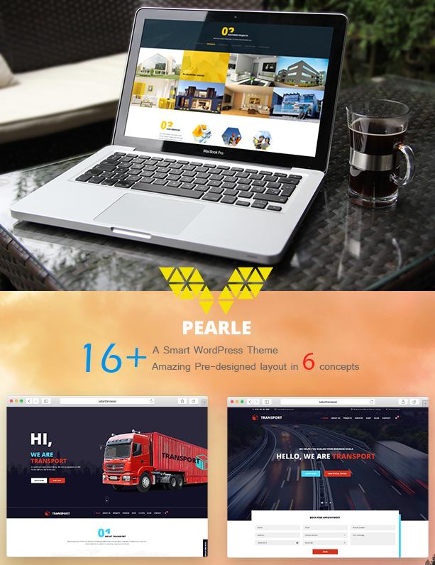 pearle logistics wp theme
