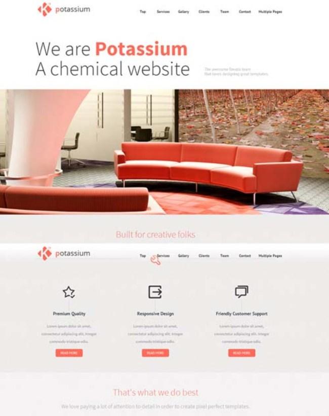 Potassium WordPress Theme