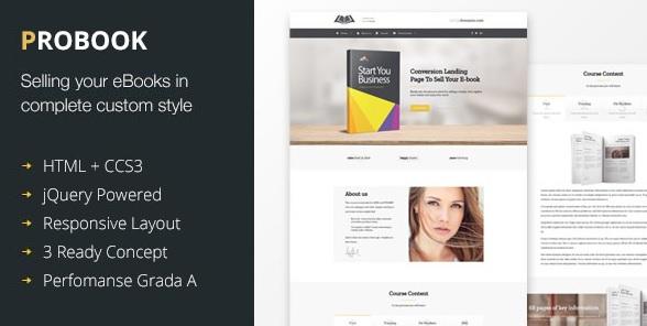 ProBook WordPress Theme