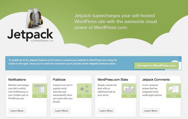 Publicize Jetpack