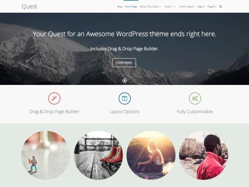 Quest Bootstrap Theme