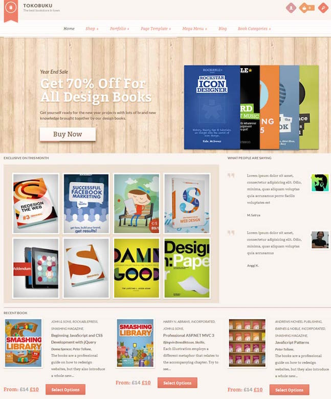 Raakbookooo-eCommerce-WordPress-Theme