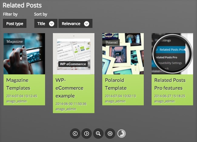 Related Posts Pro for WordPress
