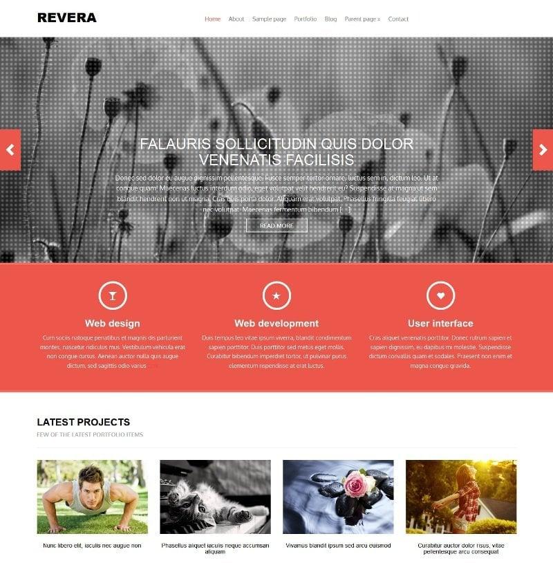 Revera WordPress Theme