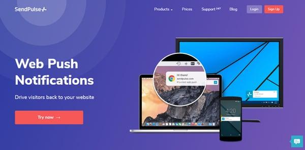 SendPulse Web Push WordPress Plugin