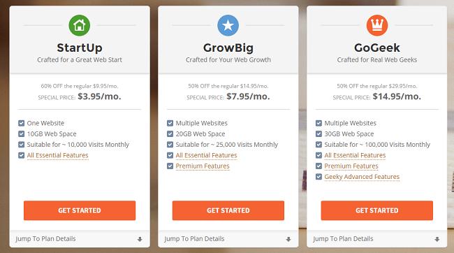 Shared Hosting Providers SiteGround
