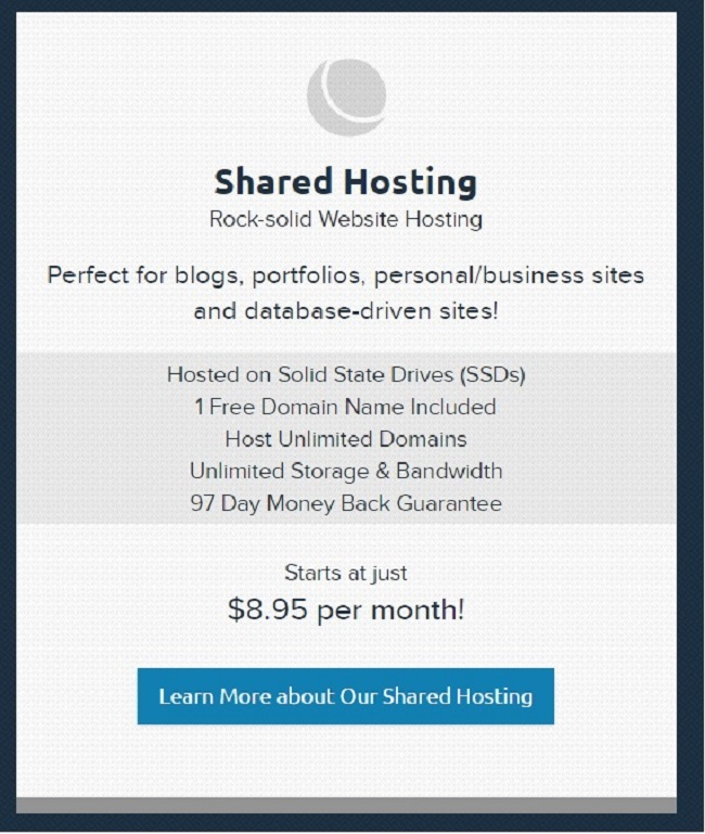 Shared Hosting Services Dreamhost