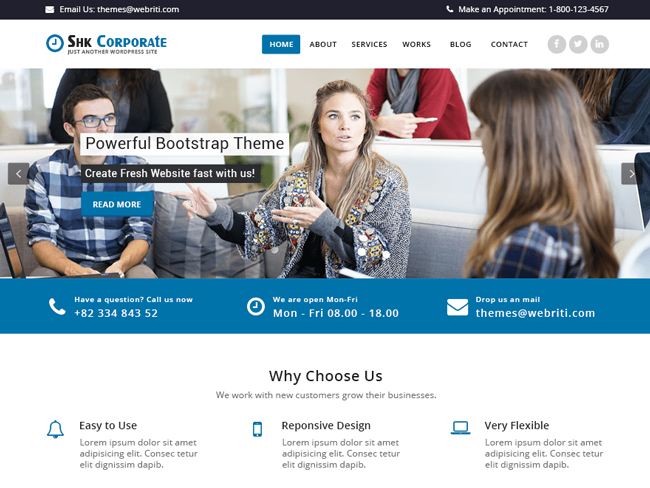 Shk-Corporate-WordPress-Theme