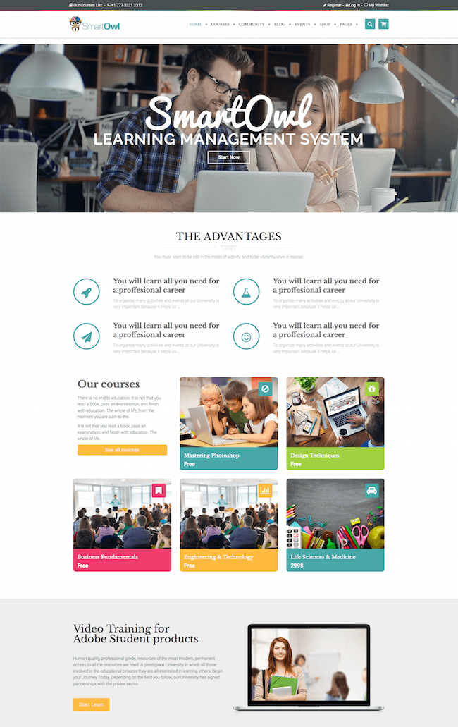 SmartOWL WordPress Theme