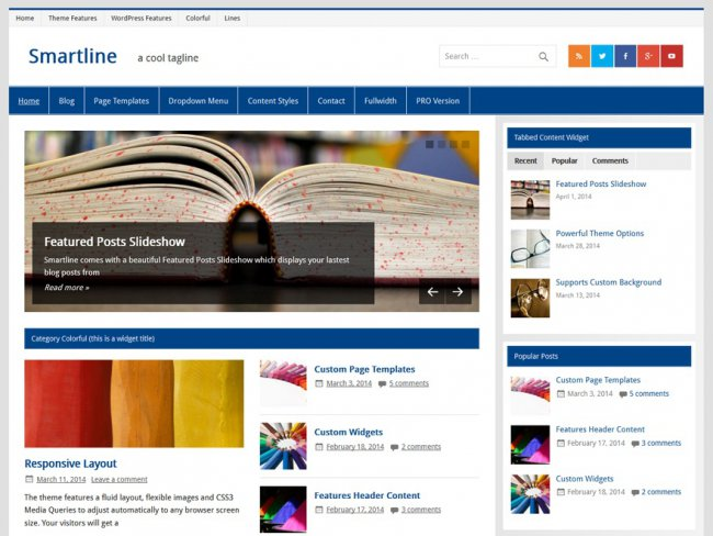 Smartline-lite-wordpress-theme