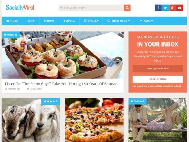 SociallyViral-WordPress-Theme