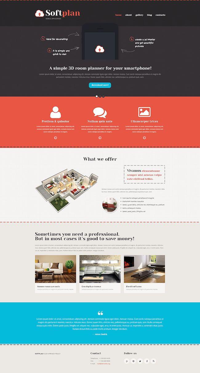 SoftPlan WordPress Theme