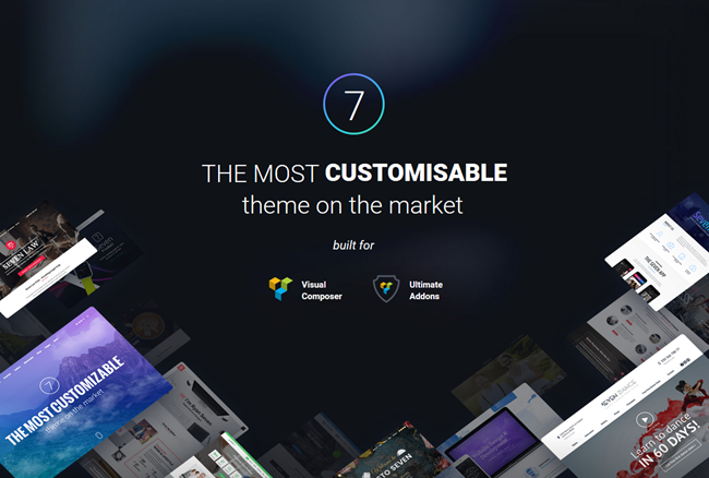 the 7 wordpress theme