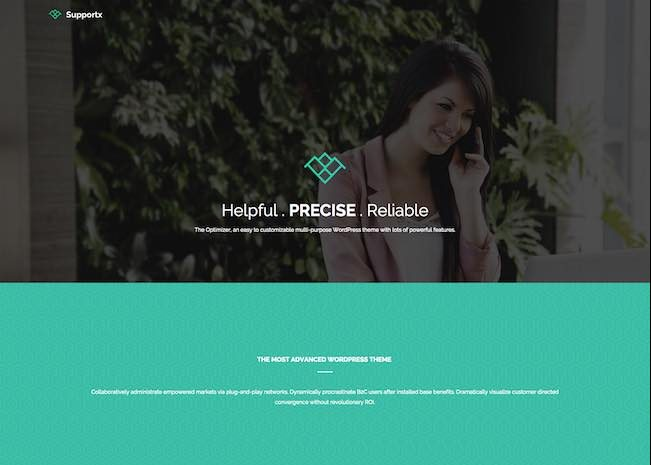 The Optimizer WordPress Theme