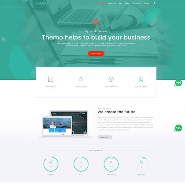 Themo WordPress Theme