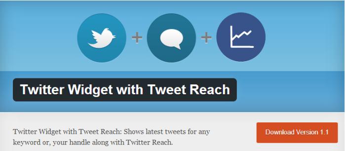 Twitter Feed WordPress Widget Plugins