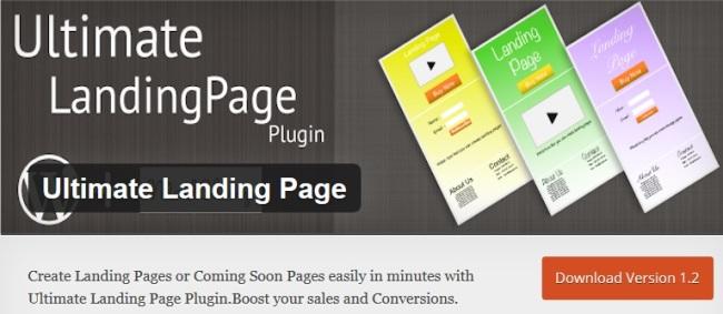 Ultimate Landing Page plugin
