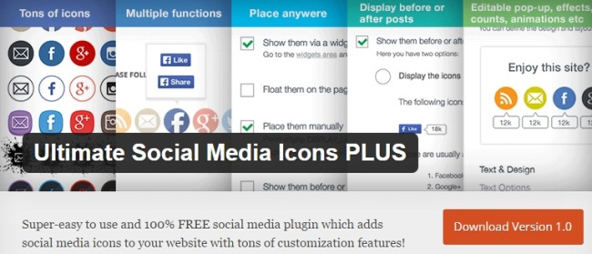 Ultimate Social Media Icons PLUS